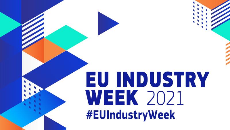 Banner EU Industry Week 2021 (© European Comission)
