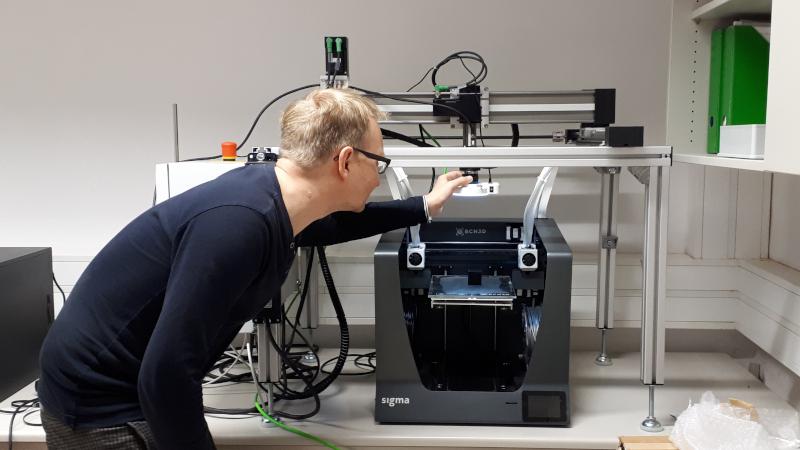 Qualitätsüberwachung im 3D-Druck (© GFE Schmalkalden e.V.)