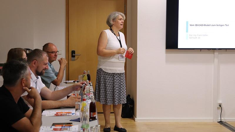 20190708 Constance Moehwald stellt das Mittelstand 40 Kompetenzzentrum vor